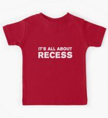 Camiseta para niños Se trata de un recreo