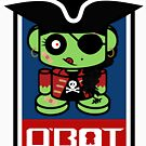 Pirate Zombie O'bot 1.1 by Carbon-Fibre Media