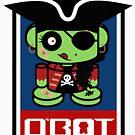 Pirate Zombie O'bot 1.1 by Carbon-Fibre Media