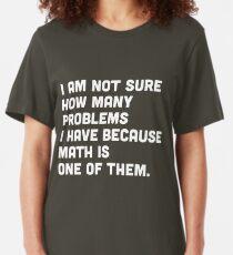 Math Geek Nerd Humor Funny Mathlete Mathematics Gifted Juniors V-neck T-shirt