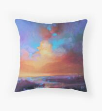 CMY Sky Study 2 Throw Pillow