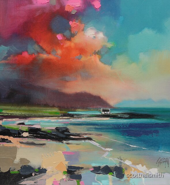 Rum From South Uist by scottnaismith
