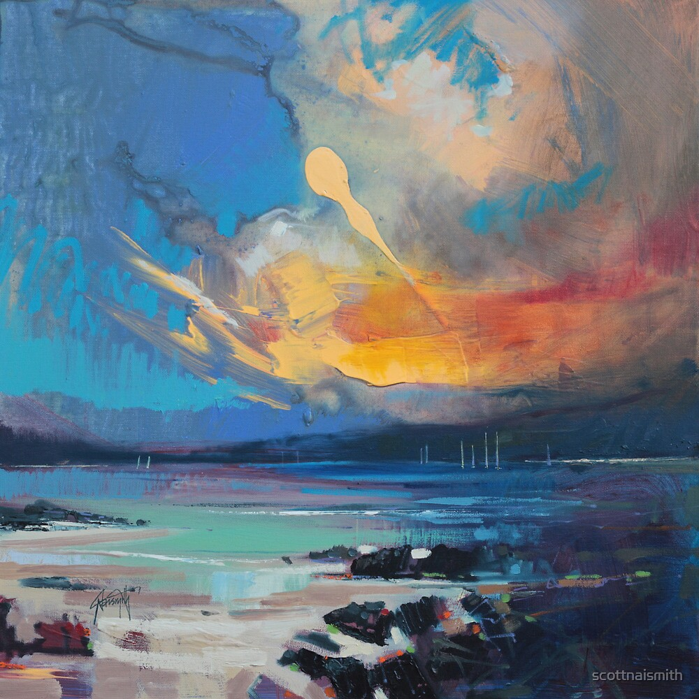 Blustery Sky by scottnaismith