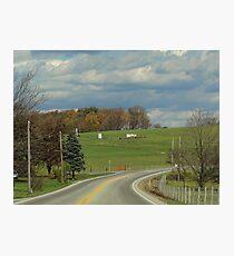 Rural Road Photographic Print