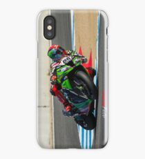 Tom Sykes at Laguna Seca 2013 iPhone Case