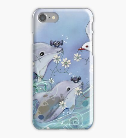 Dolphin Gifts iPhone Case/Skin