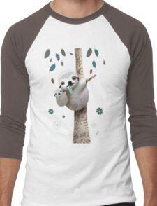 Baby Sloth Daylight Men's Baseball ¾ T-Shirt