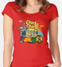 Chucky Charms Women's Fitted Scoop T-Shirt