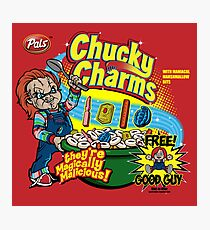Chucky Charms Photographic Print