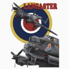 Lancaster Tee Shirt 2 by Colin  Williams Photography