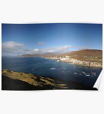 Achill coast Poster