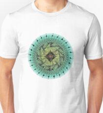 Turquoise Mandala   Unisex T-Shirt