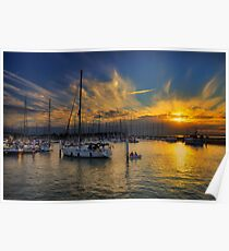 Yarmouth Sundown Poster