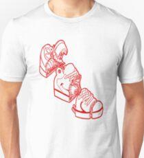 Anatomía de una zapatilla Unisex T-Shirt