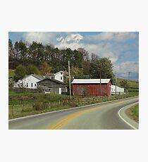Rural Road 2 Photographic Print