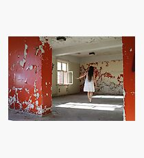 In the abandoned asylum Photographic Print
