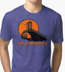 HALLOWHOEEN Tri-blend T-Shirt
