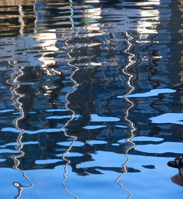 Fisherrow Reflections by Nik Watt
