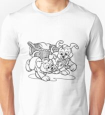 Puppies At Play T-Shirt
