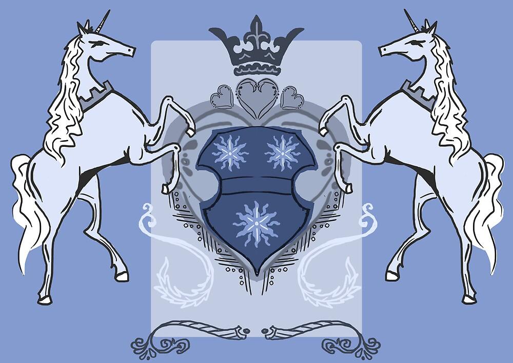Heraldic Unicorns by Snewrigard