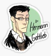 Grumpy Herms Sticker