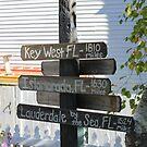 Mackinac Island Sign by Jeri Garner