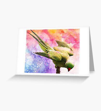 BIRD Greeting Card