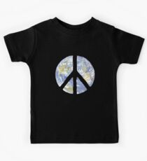 World Peace Symbol Kids Clothes