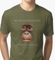 Say No to Extinction Tri-blend T-Shirt