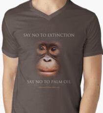 Say No to Extinction Men's V-Neck T-Shirt