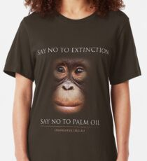 Say No to Extinction Slim Fit T-Shirt