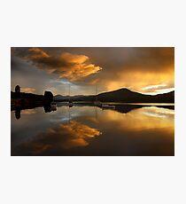 Rainy sunrise, Franklin Photographic Print