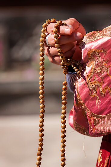 'Asian Prayer Beads' Poster by puresilk