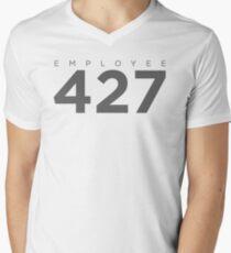 Monitoring Employee 427 Men's V-Neck T-Shirt