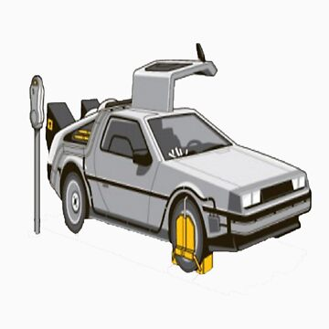 Back to the future Black edition by hassassin