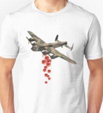 Lancaster Poppy Drop Unisex T-Shirt