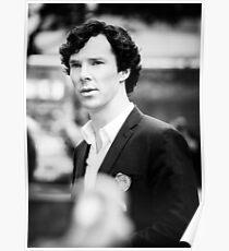 Cumberbatch B&W Poster