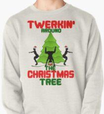 Sudadera cerrada Twerk'n alrededor del árbol de Navidad