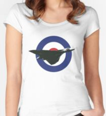 Avro Vulcan Women's Fitted Scoop T-Shirt