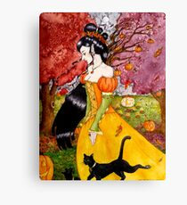 Pumpkin Queen Canvas Print