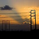 powerlines Camarillo by Tim Horton