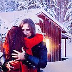 A Rumbelle Christmas Moment by faithfearcolide