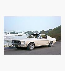 1968 Ford Mustang Fastback Photographic Print