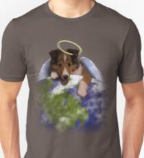 Earth Day Angel Sheltie T-Shirt