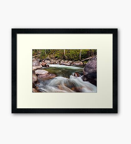 The Motion of Liquid Framed Print