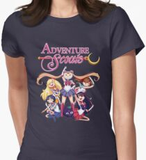 Adventure Scouts! Womens Fitted T-Shirt