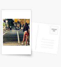 A Street Portrait Southbank Traffic Lights Postcards
