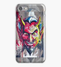 The Devil Made Me Do It iPhone Case iPhone Case/Skin