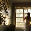In the abandoned asylum. Sunset. by UpNorthPhoto