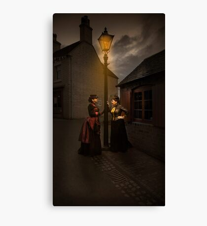 Lamp Light Ladies Canvas Print